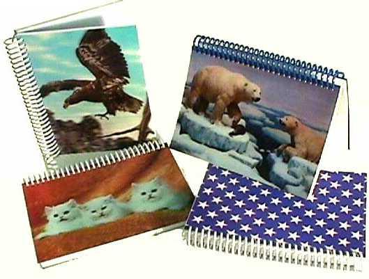 3D Lenticular Notebooks