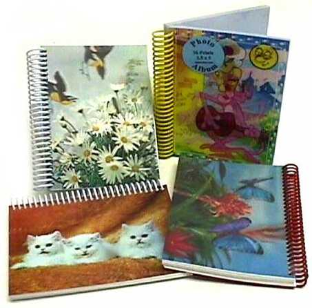 3D Lenticular Notebooks